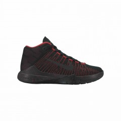 Dětské basketbalové boty Nike ZOOM ASCENTION (GS) 36,5 BLACK/BLACK-UNIVERSITY RED