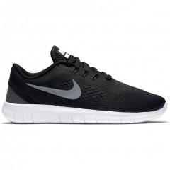 Dětské běžecké boty Nike FREE RN (GS) 40 BLACK/METALLIC SILVER-ANTHRACI