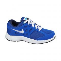 Dětské běžecké boty Nike KIDS FUSION LITE (PS) 28 LYN BL/MTLLC SLVR-BL LGN-MID N