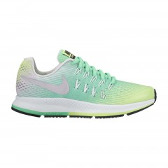 Dětské běžecké boty Nike ZOOM PEGASUS 33 (GS) 36 GHOST GREEN/METALLIC SILVER