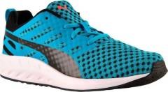 Dětské běžecké boty Puma Flare Jr atomic blue-black-bla 37