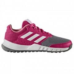 Dětské boty adidas FortaGym K | BA9354 | Šedá, Růžová | 40