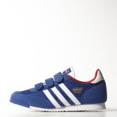 Dětské boty adidas Originals DRAGON CF C   M17082   Modrá   32