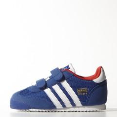 Dětské boty adidas Originals DRAGON CF I   M17091   Modrá   22