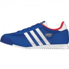 Dětské boty adidas Originals DRAGON J   M17075   Modrá   37