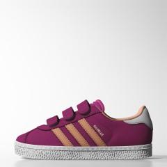 Dětské boty adidas Originals GAZELLE 2 CF C | B24988 | Fialová | 30