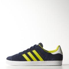 Dětské boty adidas Originals GAZELLE 2 J | M17245 | Modrá | 36