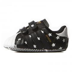 Dětské boty adidas Originals SUPERSTAR CRIB 21 CBLACK/CBLACK/FTWWHT