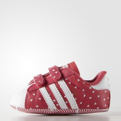 Dětské boty adidas Originals SUPERSTAR CRIB | B25511 | Růžová | 21