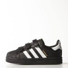 Dětské boty adidas Originals SUPERSTAR FOUNDATION CF I | B23638 | Černá | 23