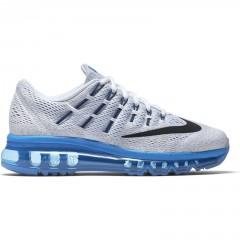 Dětské boty Nike AIR MAX 2016 (GS) 38 WHITE/BLACK-PHT BLUE-PR PLTNM