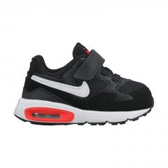 Dětské boty Nike AIR MAX ST (TDV) 22 BLACK/WHITE-TOTAL CRIMSON-DK P