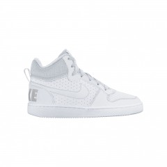 Nike court borough mid (gs) | 839977-100 | 36