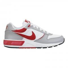 Dětské boty Nike NIGHTGAZER (GS) 36,5 WHITE/GYM RED-WOLF GREY-BLACK