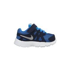 Dětské boty Nike REVOLUTION 2 TDV 27 PHOTO BLUE/METALLIC SILVER-OBS