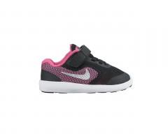 Dětské boty Nike REVOLUTION 3 (TDV) 27 BLACK/METALLIC SILVER-HYPER PI