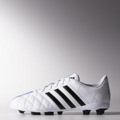 Dětské kopačky adidas 11Questra FxG J | B44218 | Bílá | 36