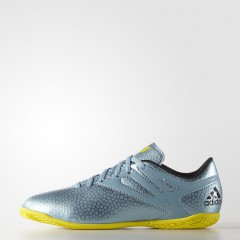 Dětské kopačky adidas MESSI 15.4 IN J | B32901 | Modrá | 36