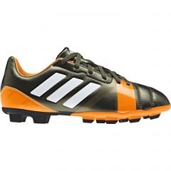 Dětské kopačky adidas nitrocharge 3.0 trf fg j | F32863 | Zelená, Oranžová | 37
