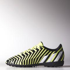 Dětské kopačky adidas Predito Instinct TF J 38,5 LTFLYE/FTWWHT/DKGREY