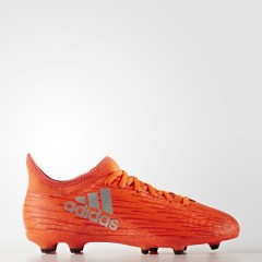 Dětské kopačky adidas X 16.3 FG J | S79489 | Oranžová | 36