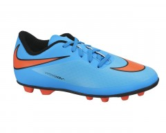 Dětské kopačky Nike JR HYPERVENOM PHADE FG-R 38,5 CLRWTR/TTL CRMSN-BL LGN-BLK