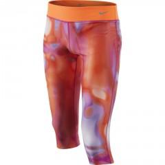 Dětské legíny Nike YA LEGEND TIGHT AOP CAPRI YTH | 645441-542 | Barevná | XL