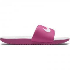 Dětská otevřená obuv Nike KAWA SLIDE (GS/PS) 36 VIVID PINK/WHITE