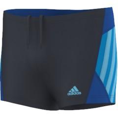 Dětské plavky adidas I INS BX B | F79800 | Modrá | 176