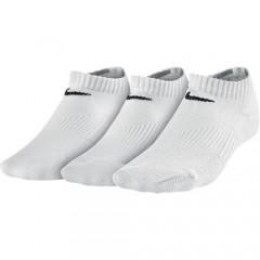 Dětské ponožky Nike Value No Show 3 páry | SX4721-101 | Bílá | S