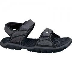 Dětská otevřená obuv Nike SANTIAM 5 (GS) 40 BLACK/WHITE-ANTHRACITE