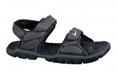 Dětská otevřená obuv Nike SANTIAM 5 (PS) 33,5 BLACK/WHITE-ANTHRACITE