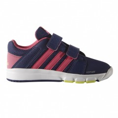 Dětské tenisky adidas BTS Class 4 CF K | S81465 | Modrá, Fialová | 28