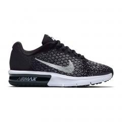 Dětské tenisky Nike AIR MAX SEQUENT 2 (GS) 40 BLACK/METALLIC SILVER-DARK GRE