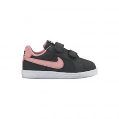 Dětské tenisky Nike COURT ROYALE (TDV) 27 ANTHRACITE/BRIGHT MELON-WHITE