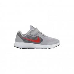 Dětské tenisky Nike REVOLUTION 3 (PSV) 31 WOLF GREY/MAX ORANGE-BLACK-WHI