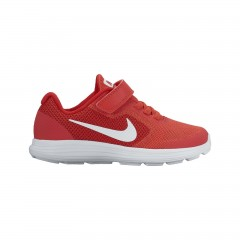 Dětské tenisky Nike REVOLUTION 3 (PSV) 31 TRACK RED/WHITE-UNIVERSITY RED
