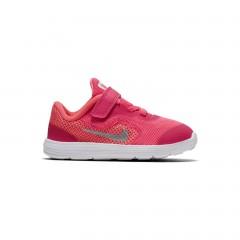 Dětské tenisky Nike REVOLUTION 3 (TDV) 27 RACER PINK/WHITE-LAVA GLOW