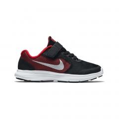 Dětské tenisky Nike REVOLUTION 3 WIDE (PSV) 27,5 UNIVERSITY RED/METALLIC SILVER