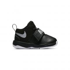 Dětské tenisky Nike TEAM HUSTLE D 8 (TD) 27 BLACK/METALLIC SILVER-WHITE