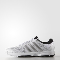 Dětské tenisové boty adidas Barricade Club xJ | AF4624 | Bílá | 37