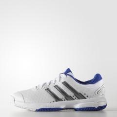 Dětské tenisové boty adidas Barricade team 4 xJ | S82869 | Bílá | 38,5