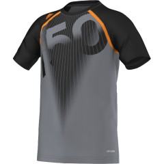 Dětské tričko adidas F50 CL TEE Y | D85261 | Černá | 164