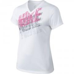 Dětské tričko Nike LEG TRACER TEE YTH XL WHITE