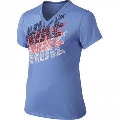 Dětské tričko Nike LEG TRACER TEE YTH XL CHALK BLUE