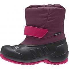 Dětské zimní boty adidas CH WINTERFUN GIRL K | M22752 | Fialová, Černá | 28
