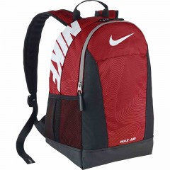 Dětský batoh Nike YA MAX AIR TT SM BACKPACK MISC UNIVERSITY RED/BLACK/(WHITE)