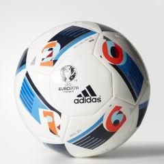 Fotbalový míč adidas EURO16 MINI   AC5427   Bílá, Modrá   1