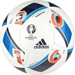 Fotbalový míč adidas EURO16TRAINPRO | AC5449 | Modrá, Bílá | 5