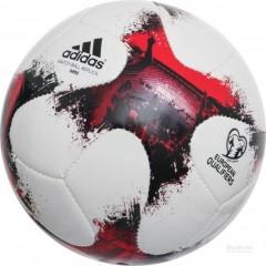 Fotbalový míč adidas EUROPEANQMINI | AO4838 | Modrá, Červená | 1